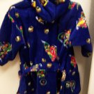 NWOT MOTORBIKE TODDLER BOYS ROBE W/BELT & HOOD