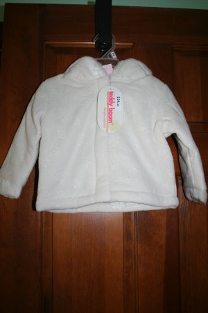 Cream Winter Hooded Coat