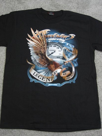 NWT American Eagle Cruisin' Motorcycle Men Biker T-Shirt size L chopper