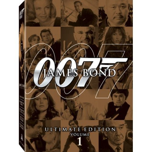 James Bond Ultimate Edition Vol. 1 US Version DVD: Goldfinger, The World Is Not Enough, Diamonds ...