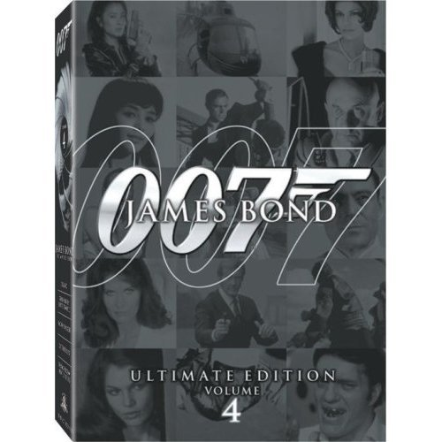 James Bond Ultimate Edition Vol. 4 US Version DVD: Dr. No, You Only Live Twice, Octopussy, Moonraker
