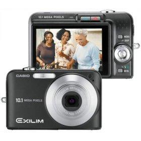 Casio Exilim EX-Z1050 10.1MP Digital Camera 3x Anti Shake Optical Zoom (Black)