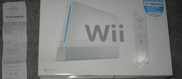 NINTENDO WII CONSOLE only
