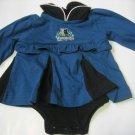 New NBA Minnesota Timberwolves Infant Onesie Baby Girl size 6/9M FREE SHIPPING!