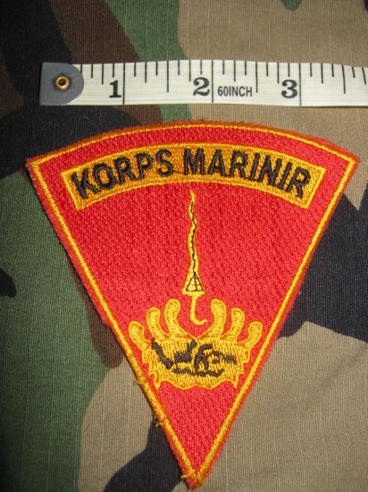 Indonesian Korps Marinir (Marine Corps) Patch FREE SHIPPING!