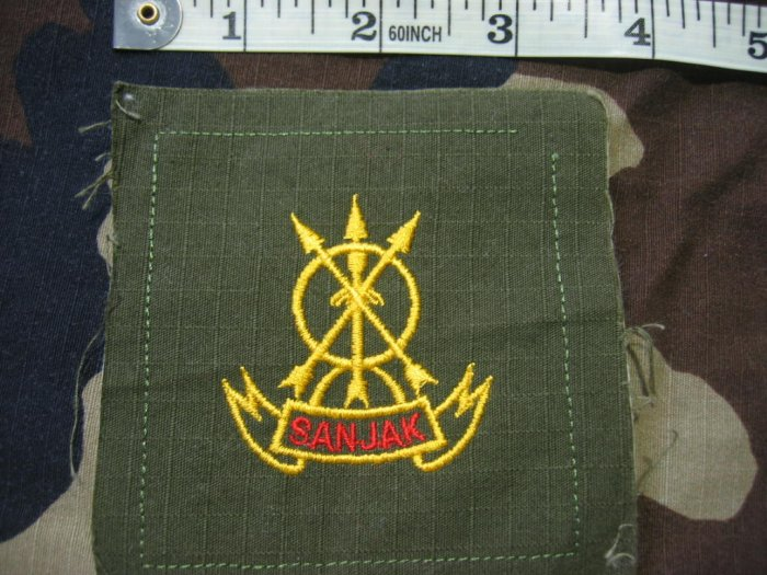 Indonesian Military Sanjak Patch FREE SHIPPING!