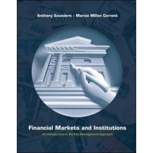Financial Markets and Institutions Textbook 4th ed Saunders Cornett Introduction Management Approach