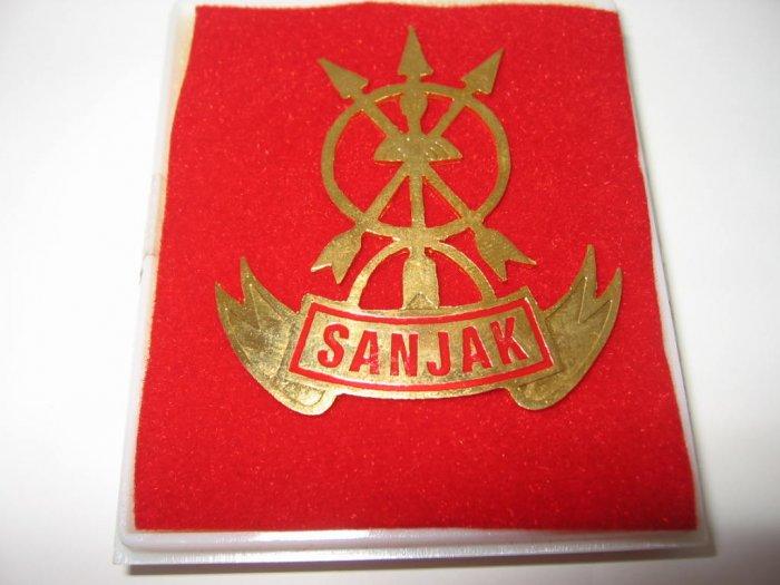 Indonesia Military Tracker Sanjak (Mengesan Jejak) Badge FREE SHIPPING!