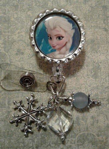 Elsa Frozen Badge Reel
