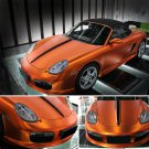 Orange Auto Car Styling Body Electro Coating Change Color Film Chrome Plating New Satin Chrome Vinyl