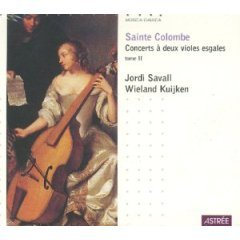 Sainte Colombe: Two Concerts