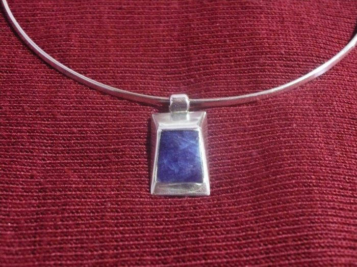 Sterling Silver Necklace and Earring Set