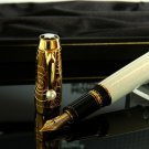 Montblanc Boheme Lacquer Pearl with Gold Trim Medium Point Fountain Pen / Mother-of-Pearl