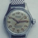 VINTAGE RARE OEBRA  ladies  wrist watch SILVER 837