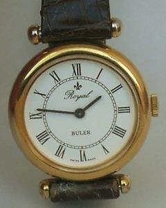 RARE Royal Buler manual wind swiss made watch royal works running