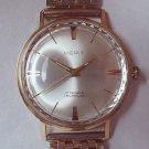 """VINTAGE """"MERIT """" Wristwatch Rare  - Mens  Watch  WORKS"""