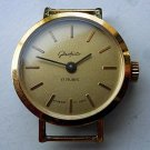Rare Women's GLASHUTTE Handwinding German Wristwatch 17 rubis
