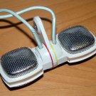 Vintage Grundig W1- Sennheiser dynamic stereo Microphone