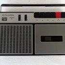 Vintage RARE  SIEMENS TRABANT RC 420 black cassette player/recorder 1971