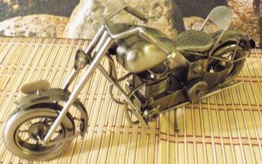 Harley Davidson Tin Metal Motorcycle 14' L x 6' W