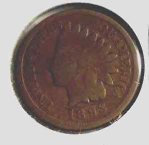 1893 Indian Head Cent ERROR of Center and Edges