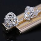 New Ladies Elegant Simulated Rhinestone Earrings Ear Stud