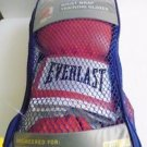 Everlast Level 1 Boxing Wrist Wrap Training Gloves red 12 oz. NWT