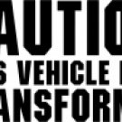 Caution This Vehicle Is A Transformer