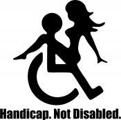 Handicap, Not Disabled
