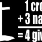 """1 cross +3 nails= 4 given #1 (6""""X 6"""")"""