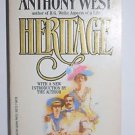 Heritage by Anthony West 1984 Autobiography PAPERBACK