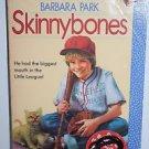 Skinnybones by Barbara Park 1982 PB