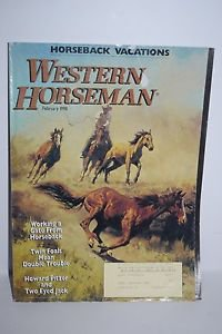 Western Horseman February 1998-Bill Owen cover