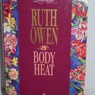 Body Heat (Loveswept) by Ruth Owen 1995 PB