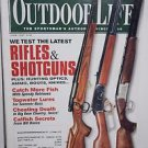 Outdoor Life Magazine June/July 2002 Latest Rifles and Shotguns