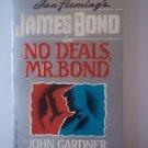 No Deals, Mr. Bond John Gardner PB 1987 GC