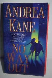No Way Out by Andrea Kane (2001, Paperback)