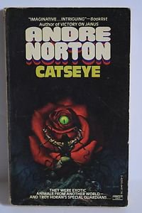 Andre Norton, Catseye 1st Paperback 1980