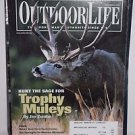 Outdoor Life Magazine 11/2001 Trophy Muleys