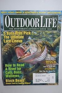 Outdoor Life Magazine May 2001 Ultimate Lure Lineup