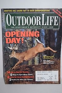 Outdoor Life Magazine: Opening Day/Tag Out/Spot 10/2001