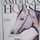 America's Horse  11-12/2002 Quarter Horse Association-Earl Kuhn Art