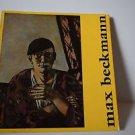 Max Beckmann by Peter Selz Museum of Modern Art Softcover Book