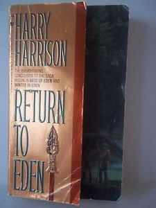 Return To Eden (# 3) by Harry Harrison 1st BANTAM BOOK JULY 1989