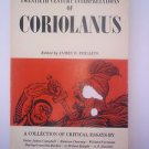 Twentieth Century Interpretations of Coriolanus edited by James E Phillips