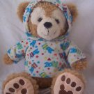 "Disney Parks 2011 Hidden Mickey Duffy Bear 13"" Plush Fleece Hoodie"