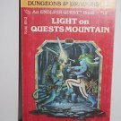 Dungeons & Dragons Endless Quest 12 Lights on Quests Mountain 1983 RPG Adventure