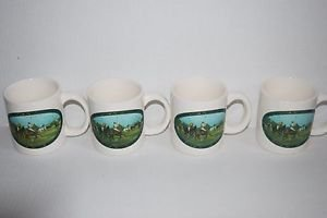 Polo Ralph Lauren Limited Edition Polo Mugs Set of 4