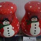 Holiday Gifts Joyful Tidings Salt and Pepper set