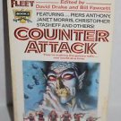 Counter Attack by David Drake and Bill Fawcett 1988 Paperback